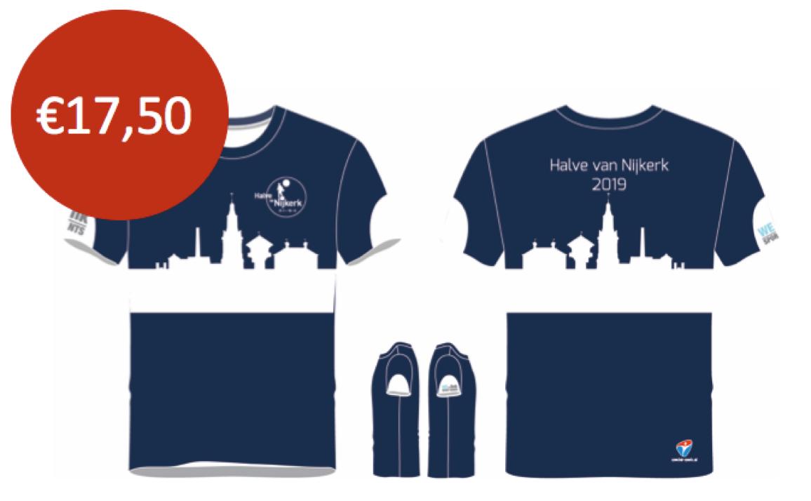 40091cbf7bf Het shirt is zowel in mannen, vrouwen en kindermodel te bestellen. LET OP!  Shirts bestellen kan tot 25 maart! Maattabel
