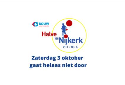 Bouw Logistics Halve van Nijkerk gaat niet door op 3 oktober